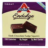 Atkins Nutritionals Inc. - Endulge Dark Chocolate Fudge Squares - 6 oz.