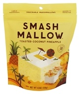Smashmallow - Snackable Marshmallows Toasted Coconut Pineapple - 4.5 once.