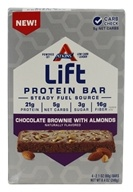 Atkins Nutritionals Inc. - Lift Protein Bar Chocolate Brownie with Almonds - 4 Bars