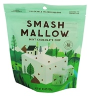 Smashmallow - Snackable Marshmallows Mint Chocolate Chip - 4.5 once.