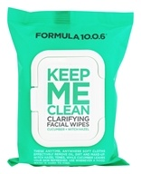 Formula 10.0.6 - Keep Me Clean Clarifying Facial Wipes - 25 Wipe(s)
