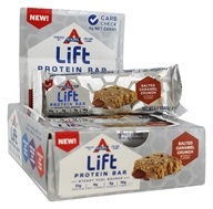 Atkins Nutritionals Inc. - Lift Protein Bar Salted Caramel Crunch - 9 Bars