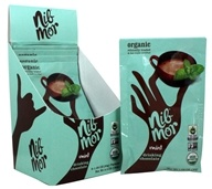 NibMor - Organic Drinking Chocolate Packets Mint - 6 Count