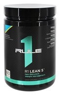 R1 Lean 5 Non-Stimulant Weight Management 60 Servings Blue Razz Lemonade - 336 Grams by Rule One Proteins