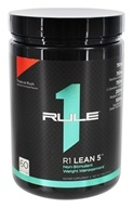 R1 Lean 5 Non-Stimulant Weight Management 60 Servings Tropical Rush - 336 Grams by Rule One Proteins