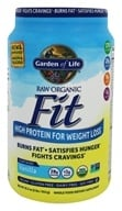 Garden of Life - Raw Organic Fit High Protein For Weight Loss Vanilla - 32.2 oz.