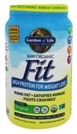 Garden of Life - Raw Organic Fit High Protein For Weight Loss Original - 30.01 oz.