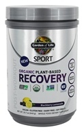 Sport Organic Plant-Based Recovery Blackberry Lemonade - 15.7 oz. by Garden of Life