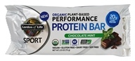 Garden of Life - Sport Organic Plant-Based Performance Protein Bar Chocolate Mint - 2.5 oz.
