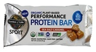 Garden of Life - Sport Organic Plant-Based Performance Protein Bar Sea Salt Caramel - 2.5 oz.