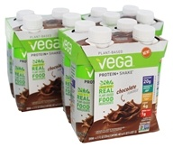 Vega - Plant-Based Protein+Shake Chocolate - 12 Pack