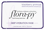 Florapy - Floral Therapy Facial Sheet Deep Hydration Mask Blackberry Primrose - 1 Sheet(s)