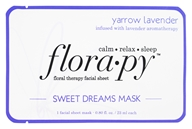 Florapy - Floral Therapy Facial Sheet Sweet Dreams Mask Yarrow Lavender - 1 Sheet(s)