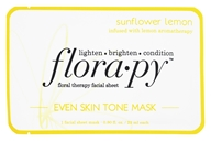 Floral Therapy Facial Sheet Even Skin Tone Mask Sunflower Lemon - 1 Sheet(s)
