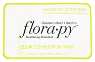 Floral Therapy Facial Sheet Clear Complexion Mask Dandelion Lemongrass - 1 Sheet(s)