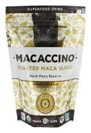 Macaccino - Superfood Coffee Alternative Roasted Maca Blend 30 Servings Black Maca Reserve - 7.5 oz.