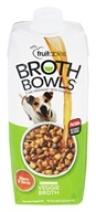 Fruitables Pet Food - Browth Bowls for Dogs Veggie Broth - 16.9 oz.