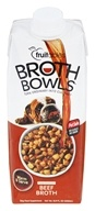 Fruitables Pet Food - Browth Bowls for Dogs Beef Broth - 16.9 oz.
