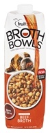 Fruitables Pet Food - Browth Bowls for Dogs Beef Broth - 33.8 oz.