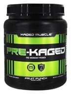 Kaged Muscle - Pre-Kaged Pre-Workout Primer Fruit Punch - 1.41 lbs.