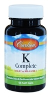 Carlson Labs - K Complete - 45 Softgels