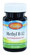 Carlson Labs - Methyl B12 - 60 Lozenges
