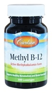 Carlson Labs - Methyl B12 - 200 Lozenges
