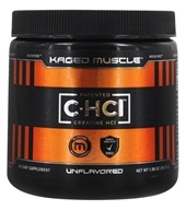 Kaged Muscle - C-HCl Patented Creatine HCl Unflavored 750 mg. - 1.98 oz.