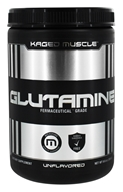 Kaged Muscle - Glutamine Fermaceutical Grade Unflavored - 9.6 oz.