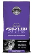 Cat Litter Lavender - 7 lbs. by World's Best Cat Litter
