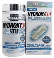 Muscletech Products - Hydroxycut Platinum - 60 Capsules