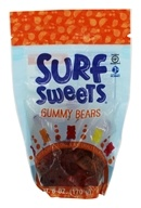 Surf Sweets - Organic Gummy Bears Assorted - 6 oz.