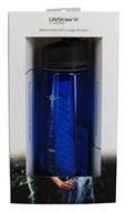 LifeStraw - Water Bottle with 2 Stage Filtration Blue - 22 oz.