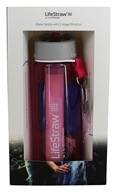 LifeStraw - Water Bottle with 2 Stage Filtration Pink - 22 oz.