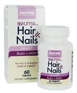 Jarrow Formulas - Beautysil Hair & Nails Formula - 60 Tablet(s)