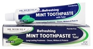 Dr. Mercola Premium Supplements - Refreshing Toothpaste with Tulsi Mint - 3 oz.