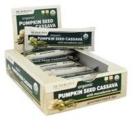 Dr. Mercola Premium Supplements - Organic Pumpkin Seed Cassava Gourmet Snack Bar with Macadamia Nuts - 12 Bars