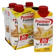 Premier Protein - High Protein Shake Bananas & Cream - 4 Pack
