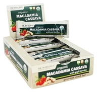 Dr. Mercola Premium Supplements - Organic Macadamia Cassava Gourmet Snack Bar with Goji Berries - 12 Bars