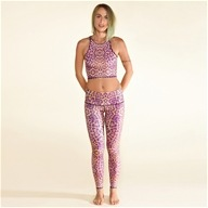 Teeki - Purple Awakening Hot Pants Purple Cheetah - Small