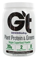 Genesis Today - Plant Protein & Greens Smooth Chocolate - 18.59 oz.