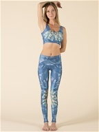 Teeki - Lightening in a Bottle Hot Pants Blue - Small