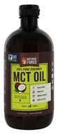 Natural Force - 100% Pure Coconut MCT Oil Unflavored - 16 oz.