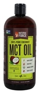 Natural Force - 100% Pure Coconut MCT Oil Unflavored - 32 oz.
