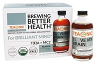 Organic I Love My Brain Tea Lemongrass & Ginger - 6 Pack by Teaonic