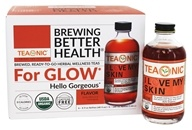 Organic I Love My Skin Tea Hibiscus & Lemongrass - 6 Pack by Teaonic