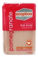 Soapbox Soaps - Bar Soap Pomegranate - 8 oz.