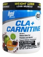 BPI Sports - CLA + Carnitine Weight Loss Formula Fruit Punch - 10.58 oz.