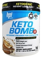 BPI Sports - Keto Bomb Ketogenic Weight Loss Fuel Caramel Macchiato - 1 lb.