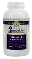 Nutralife - Vitamin C Chewable 500 mg. - 200 Chewable Tablets